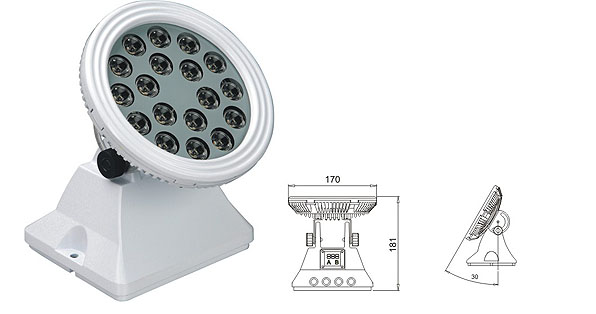 ዱካ dmx ብርሃን,LED flood floodlights,25W 48W ካሬ LED ግድግዳ ማጠቢያ 1, LWW-6-18P, ካራንተር ዓለም አቀፍ ኃ.የተ.የግ.ማ.