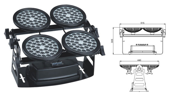 ዱካ dmx ብርሃን,LED flood floodlights,155 ዋ LED flood flood 1, LWW-8-144P, ካራንተር ዓለም አቀፍ ኃ.የተ.የግ.ማ.
